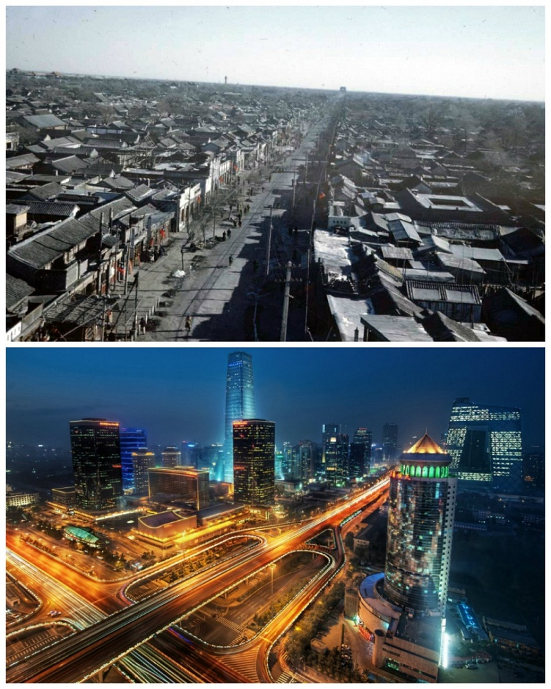 beijing-chinathe-1950s-vs-the-present
