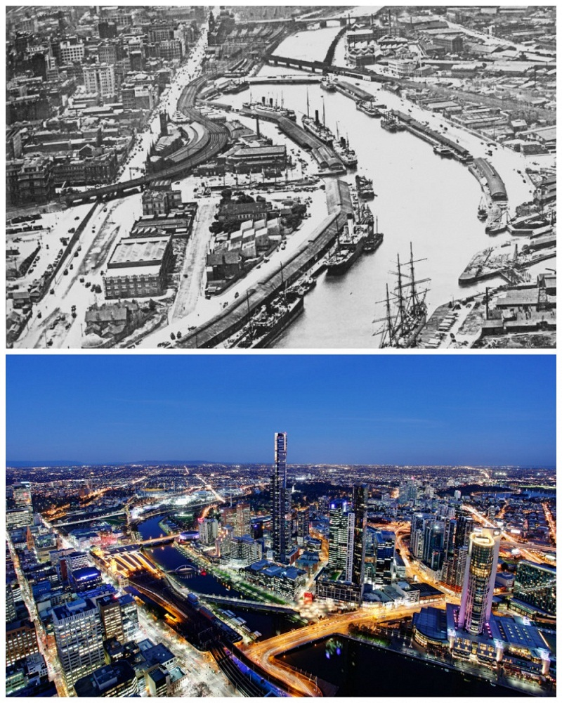 melbourne-australia1930-and-today