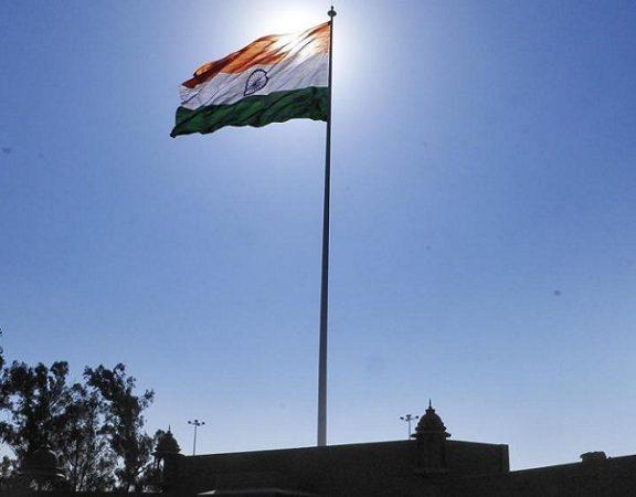 tallest flage at attari border
