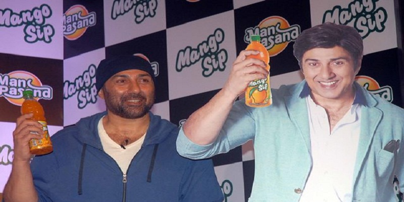 sunny deol manpasand beverage all story