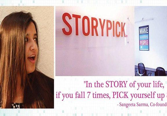 Sangeeta Sarma founder of storypick