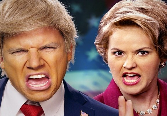 epic rap battles of history donald trump vs hillary clinton all story